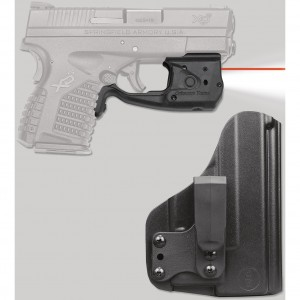 Crimson Trace Laserguard Pro with Blade-Tech IWB Holster
