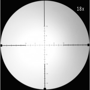 Falcon 4-18x44 M18+ 30mm Riflescope