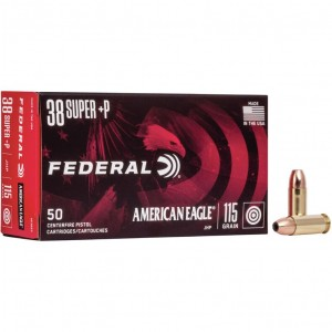 Federal American Eagle 38 Super +P 50rd Ammo