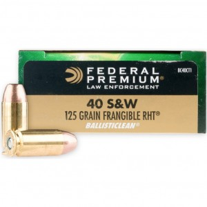 Federal BallistiClean 40 Smith & Wesson 50rd Ammo