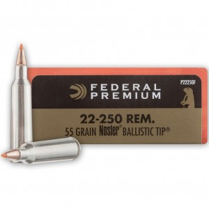 Federal V-Shok 22-250 Remington 20rd Ammo