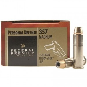 Federal Personal Defense 357 Magnum 20rd Ammo