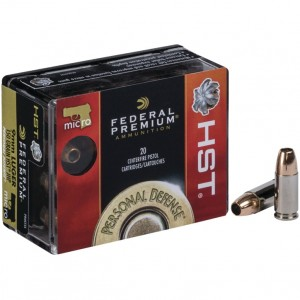Federal Personal Defense 380 ACP 20rd Ammo