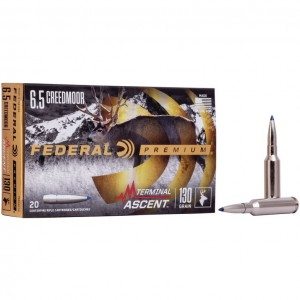 Federal Terminal Ascent 6.5 Creedmoor 20rd Ammo