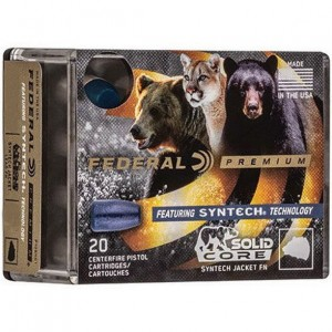 Federal Solid Core 9mm Luger 20rd Ammo