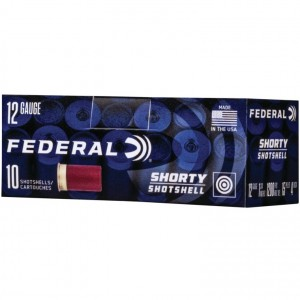 Federal Shorty 12 Gauge 8 Shot 10rd Ammo