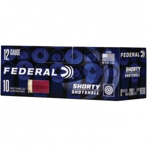 Federal Shorty 12 Gauge Slug 10rd Ammo