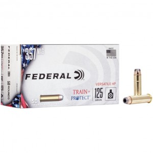 Federal Train + Protect 357 Magnum 50rd Ammo