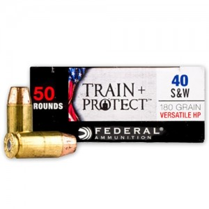 Federal Train + Protect 40 Smith & Wesson 50rd Ammo
