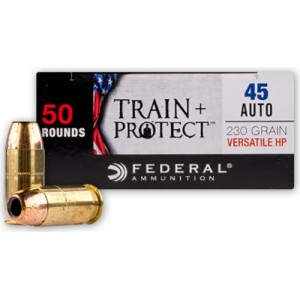 Federal Train + Protect 45 ACP 50rd Ammo