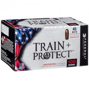 Federal Train + Protect 45 ACP 100rd Ammo