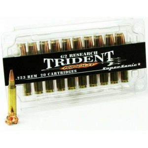 G2 Research Rip Out Trident 223 Remington 20rd Ammo