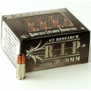 G2 Research R.I.P. 9mm Luger 20rd Ammo