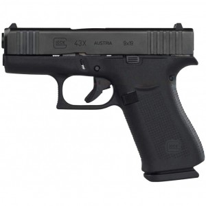 Glock OEM 43X Black 9mm Luger