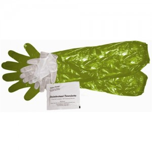 HME Game Cleaning Gloves w/ Towelette