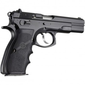 Hogue CZ-75 Rubber Wraparound with Finger Grooves
