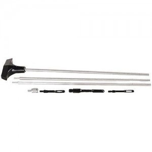Hoppe's 9 Bench Rest Three Piece Stainless Steel Rod