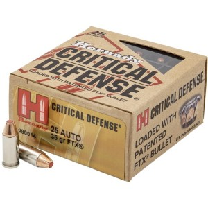 Hornady Critical Defense 25 ACP 25rd Ammo