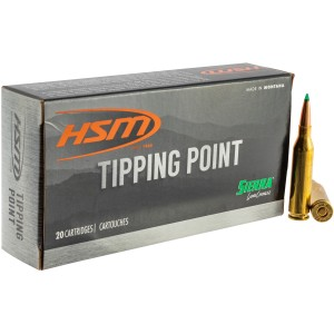 HSM Tipping Point 6.5 Creedmoor 20rd Ammo