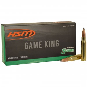 HSM Game King 7mm-08 Remington 20rd Ammo