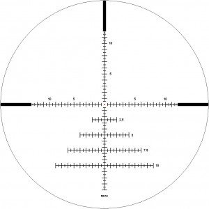 IOR 9-36x44 Spyder Tactical 35mm Rifle Scope