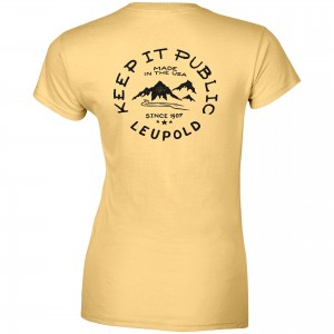 Leupold Women's Keep It Public Premium Tee