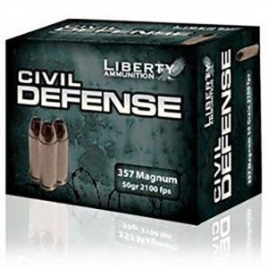 Liberty Civil Defense 357 Magnum 20rd Ammo