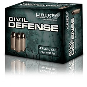 Liberty Civil Defense 45 Long Colt 20rd Ammo