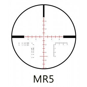 Minox 5-25x56 ZP TAC 34mm Riflescope