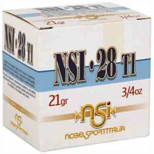 NobelSport Hunting 28 Gauge 7.5 Shot 25rd Ammo