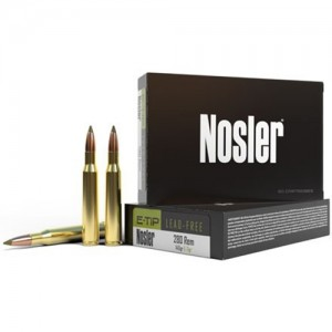 Nosler E-Tip 280 Remington 20rd Ammo