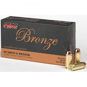 PMC Bronze 40 Smith & Wesson 50rd Ammo