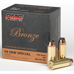 PMC Bronze 44 Smith & Wesson Special 25rd Ammo