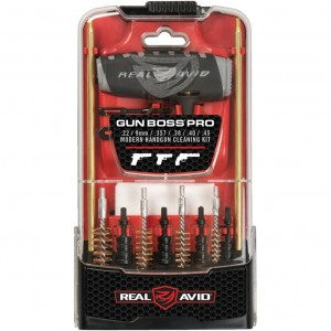 Real Avid Gun Boss Pro Handgun Cleaning Kit