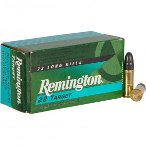 Remington 22 Target 22 Long Rifle 50rd Ammo