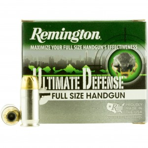 Remington Ultimate Defense Handgun 45 ACP 20rd Ammo