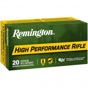 Remington High Performance Rifle 6.5 Creedmoor 20rd Ammo