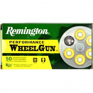 Remington Performance WheelGun 38 Smith & Wesson 50rd Ammo