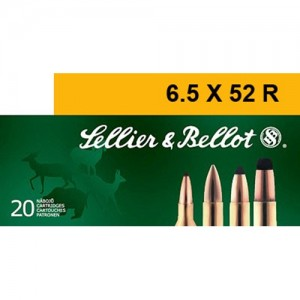 Sellier & Bellot Rifle 6.5x52 R 20rd Ammo