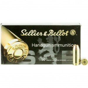 Sellier & Bellot Handgun 10mm Auto 50rd Ammo