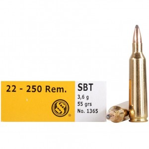 Sellier & Bellot Rifle 22-250 Remington 20rd Ammo