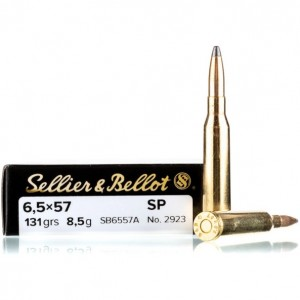 Sellier & Bellot Rifle 6.5x57 20rd Ammo