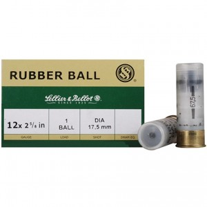 Sellier & Bellot Shotshell 12 Gauge 17.5mm Shot 25rd Ammo