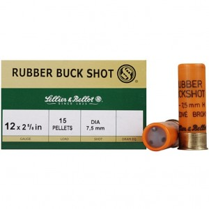 Sellier & Bellot Shotshell 12 Gauge 7.5mm Shot 25rd Ammo
