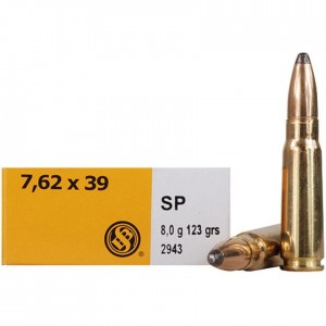 Sellier & Bellot Rifle 7.62x39mm 20rd Ammo