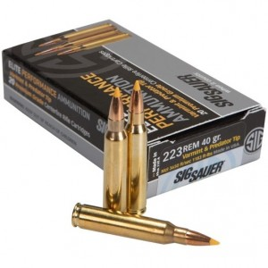 Sig Sauer Hunting 223 Remington 20rd Ammo