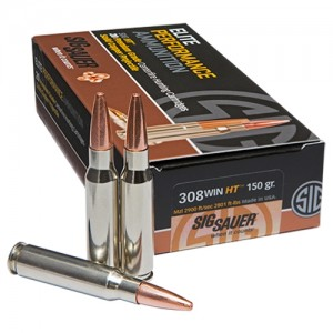 Sig Sauer Hunting 308 Winchester 20rd Ammo