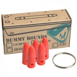 Strike Industries Dummy 9mm Luger 5rd Ammo