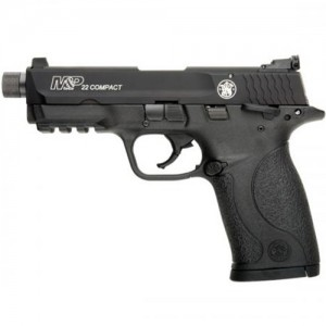 Smith & Wesson M&P22 Compact Threaded Barrel MTS 22 LR