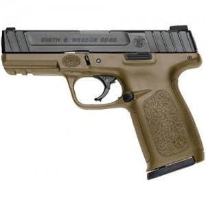 Smith & Wesson SD40 Flat Dark Earth Frame 40 Smith & Wesson